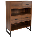 lincoln bookcase with drawers