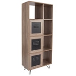 woodridge bookcase and storage cabinet