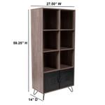 woodridge storage cube bookcase dimensions