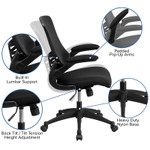 computer chair features
