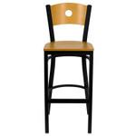 circle back bar stool