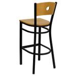 commercial grade wood bar stool