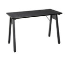 ofm essentials black table desk