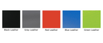 color swatches for gaming chair