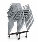 global spyker arm chair 6790 - on dolly