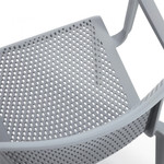 global spyker arm chair 6790 - perforations
