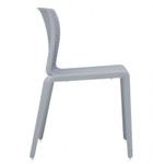 spyker armless chair 6791 side
