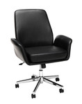 ofm core leather office chair