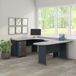 slate series a u shaped corner desk