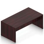 american mahogany superior laminate standing table