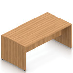 autumn walnut superior laminate standing table