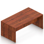 american dark cherry superior laminate standing table