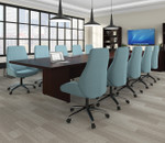 otg superior laminate rectangular conference table