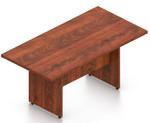 dark cherry 8' otg superior laminate rectangular conference table