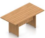 walnut 8' otg superior laminate rectangular conference table