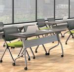 otg superior laminate flip top tables