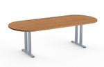 racetrack top sienna 2tl conference table