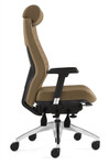 Global Aspen 2850LM-3 Leather Executive Chair