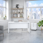 ech003 pure white echo desk