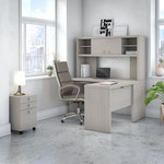 ech009 gray sand reversible l desk