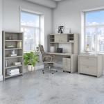 gray sand echo executive furniture set
