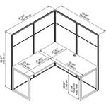 eodh360 cubicle dimensions