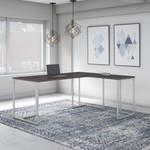 storm gray reversible l shaped method desk