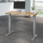 natural maple 48 x 24 height adjustable move 40 table