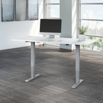 white move 40 72x30 adjustable height desk