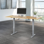 natural maple move 40 72x30 adjustable height desk