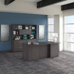 storm gray office 500 executive suite