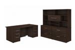 black walnut office 500 executive suite