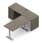 zira ergonomic l desk