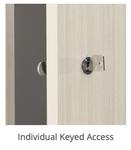 storage locker key access
