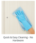 easy to clean surfaces