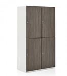 1200 series 4 compartment storage locker