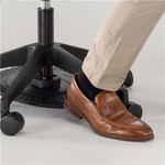 saddle seat stool foot support