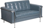 flash furniture lesley gray loveseat