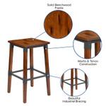 bar stool features