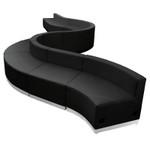 flash furniture along series 10 piece reception configuration