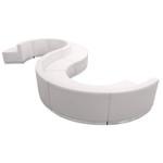 alon melrose white modular lounge seating set