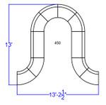 modular lounge furniture set dimensions