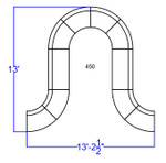 white lounge seating layout dimensions