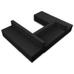 alon series open u-shaped modular seating set