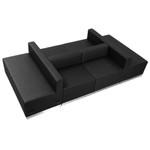 alon black modular lounge seating set