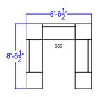 alon modular white sofa seating set dimensions