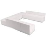 alon series white open u-shaped set