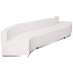 white 3 piece alon sectional set