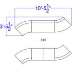 7 piece double sectional set dimensions