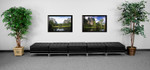 5 piece imagination series ottoman bench by flash furniture